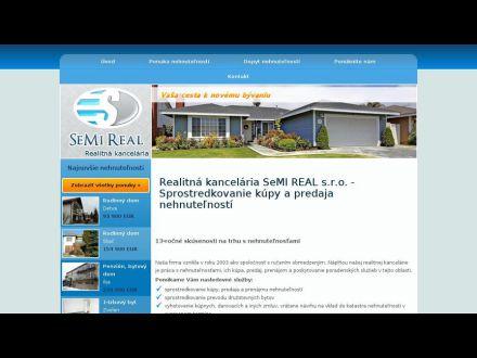 www.semireal.sk
