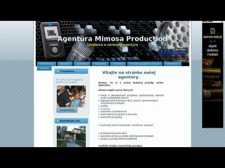 www.agenturamimosa.szm.sk
