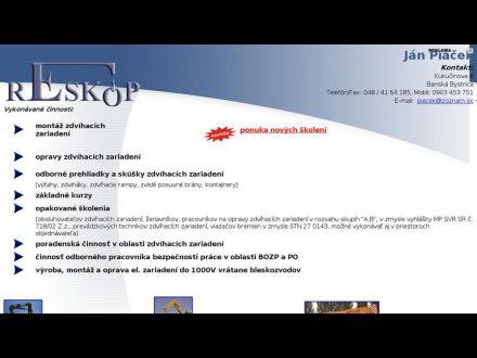 www.reskop.szm.sk