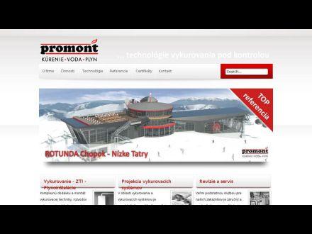 www.promont.sk