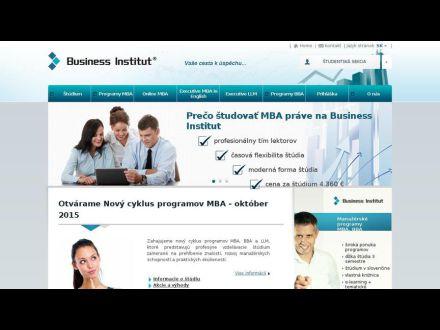 www.businessinstitut.sk