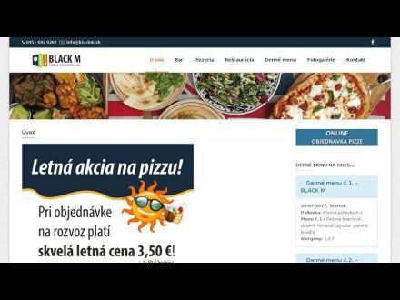 www.blackm.sk