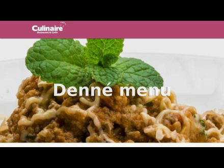 www.culinaire.sk