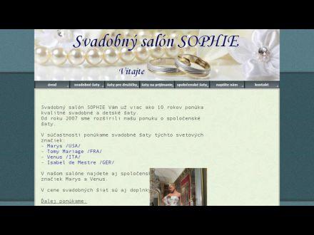 www.sophie.sk