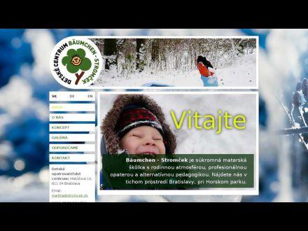 www.stromcek.sk
