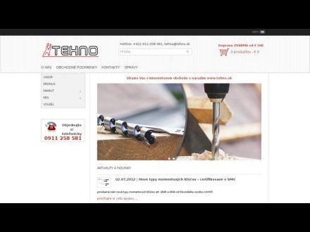 www.tehno.sk