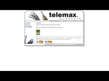 www.telemax.sk