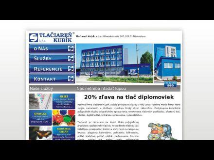 www.tlaciarenkubik.sk