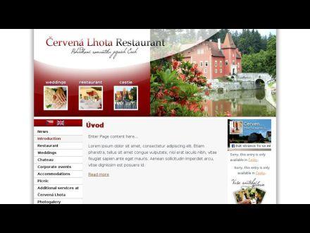 www.cervenalhota.cz
