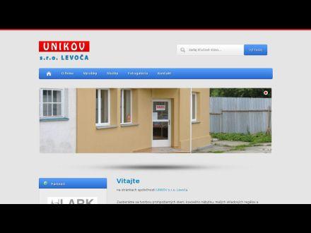 www.unikovlevoca.sk