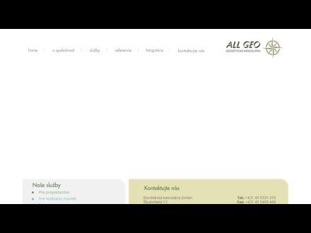 www.allgeo.sk