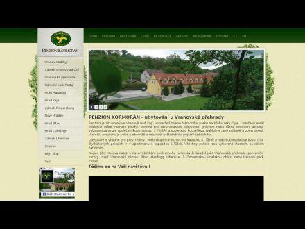 www.penzionkormoran.cz
