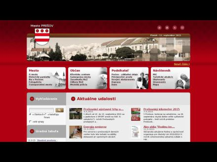 www.presov.sk