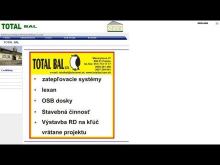 www.totalbal.szm.sk