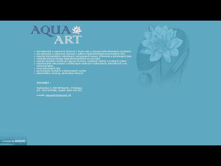 www.aquaart.sk