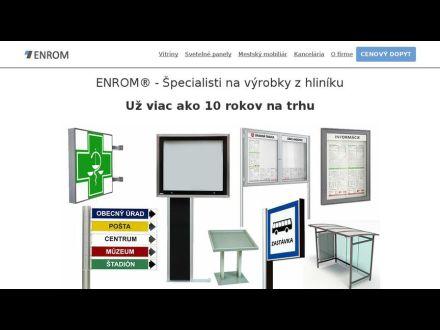 www.enrom.sk