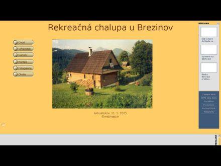 www.chalupa_zazriva.szm.sk