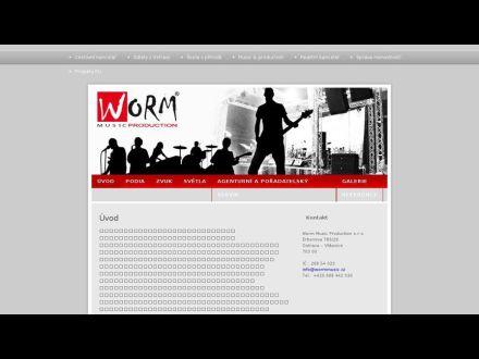 www.wormmusic.cz