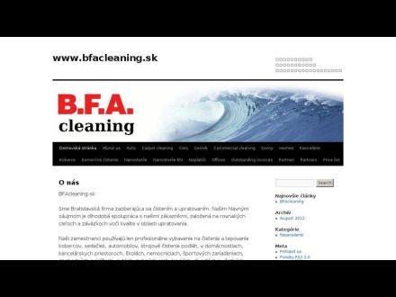 www.bfacleaning.sk