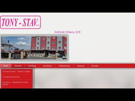 www.tonystav.sk
