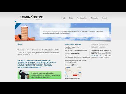 www.kominarstvo-kosice.sk