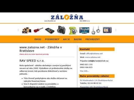 www.zalozna.net