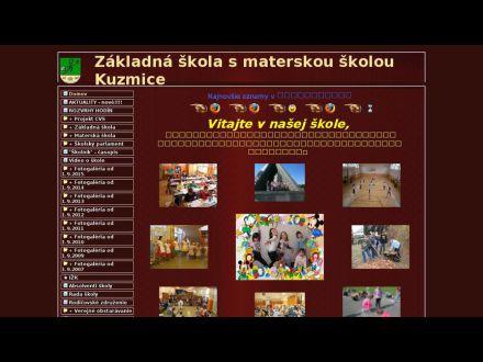 www.zskuzmice.edu.sk