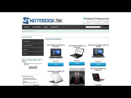 www.mynotebook.sk