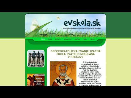 www.evskola.sk
