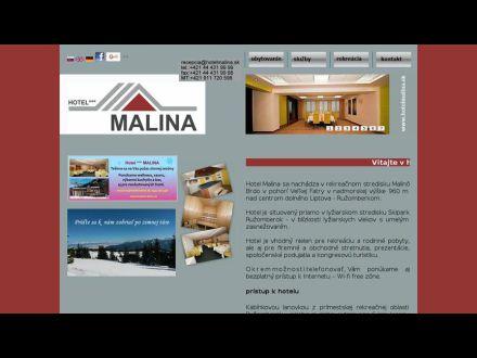 www.hotelmalina.sk