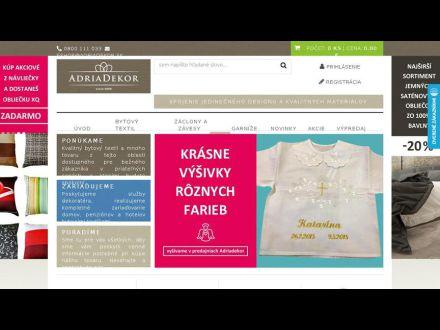 www.adriadekor.sk