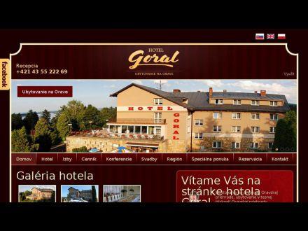 www.hotelgoral.sk