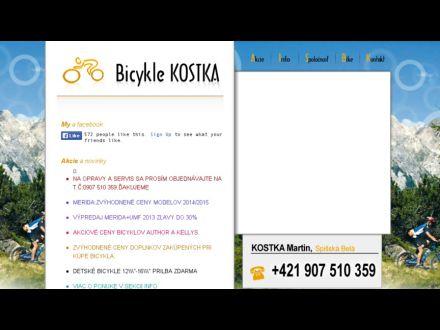 www.bicykle-kostka.sk