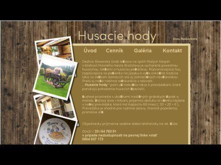 www.slovensky-grob.sk/podnikanie/husaciehody/index.htm