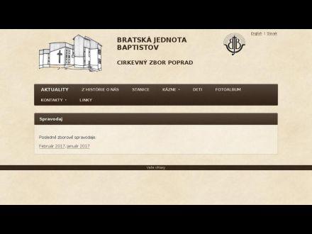 www.poprad.baptist.sk