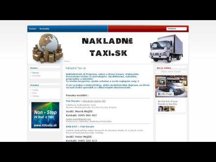 www.nakladnetaxi.sk