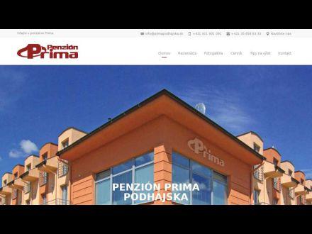 www.primapodhajska.sk