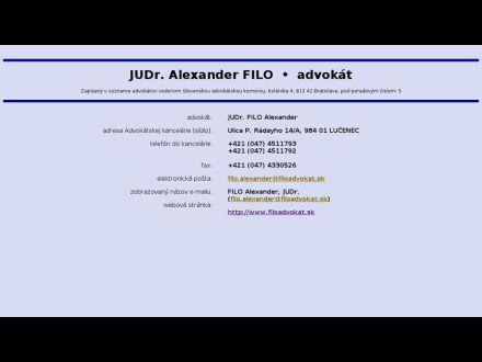 www.filoadvokat.sk