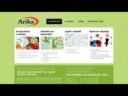 www.arika.sk