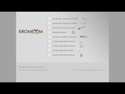 www.kromexim.cz