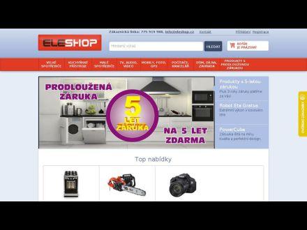 www.eleshop.cz