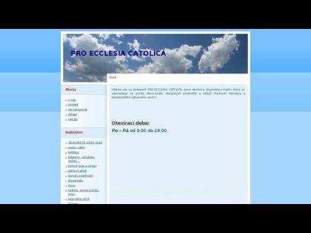 www.proecclesiacatolica.cz
