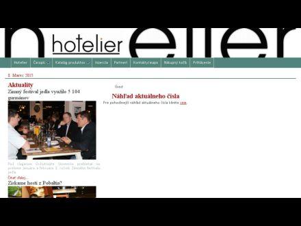 www.hotelier.sk