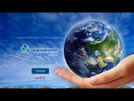 www.aquatest.sk