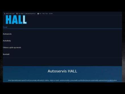 www.hall.sk
