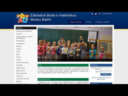 zsmsbabin.edupage.sk