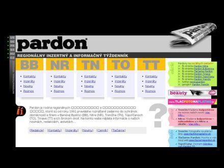 www.pardon.sk