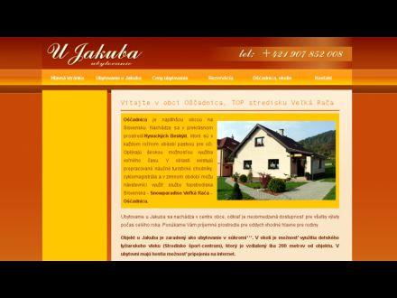 www.ubytovanieujakuba.sk