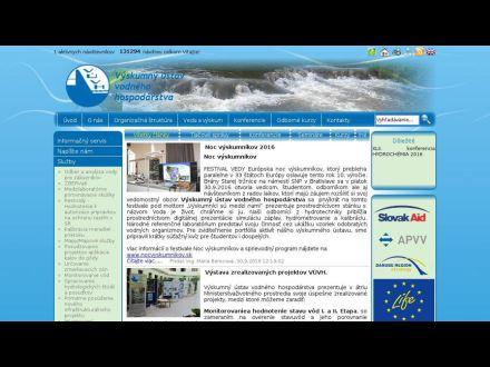www.vuvh.sk