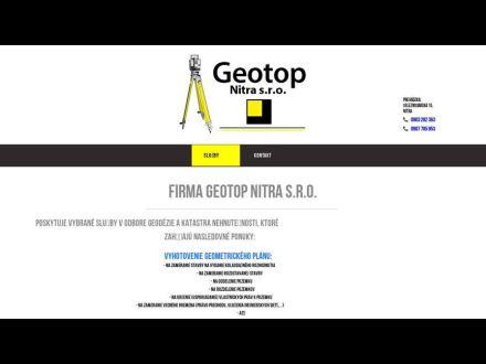 www.geotopnitra.sk